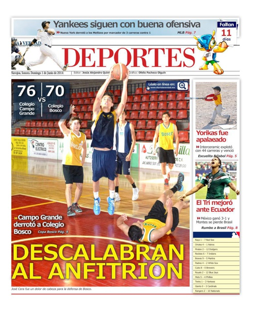 DEPORTES 27 DE FEBRERO