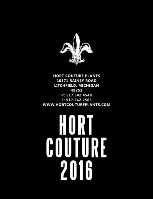 2016 Hort Couture List