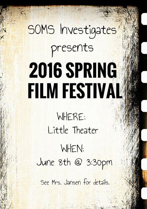 2016 SOMS Film Festival