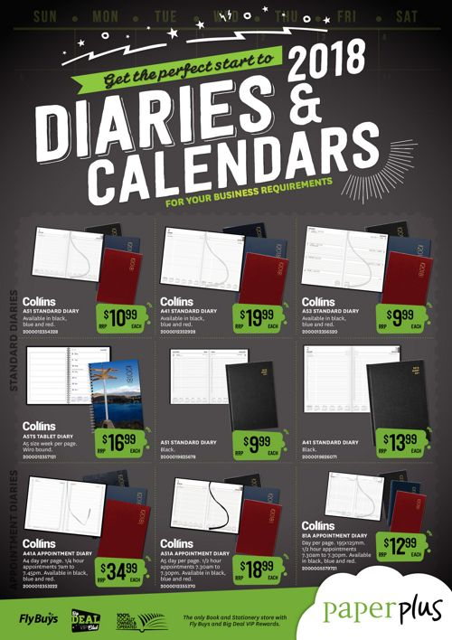 Diaries&Calendars (Comm)Mailer 2pg - 2018_FINAL