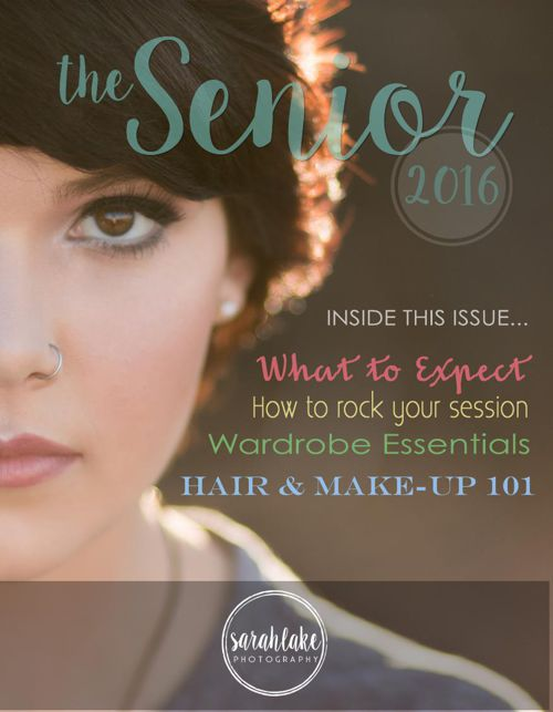 Senior Session Guide