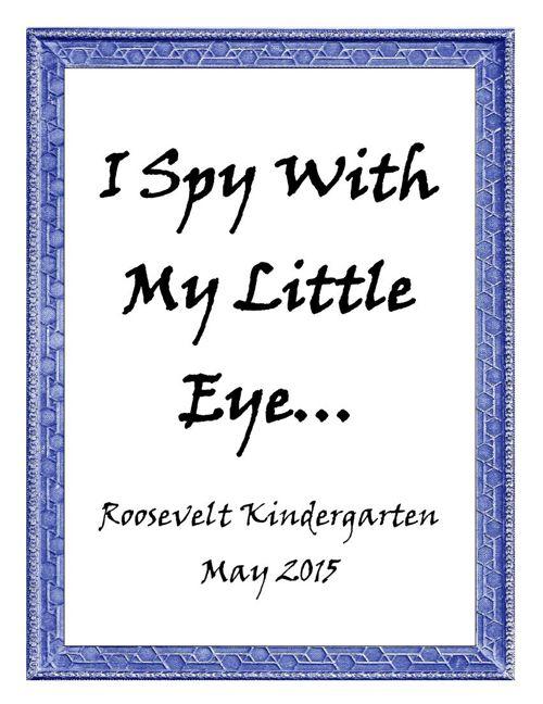 Roo-Kindergarten I Spy Book Final