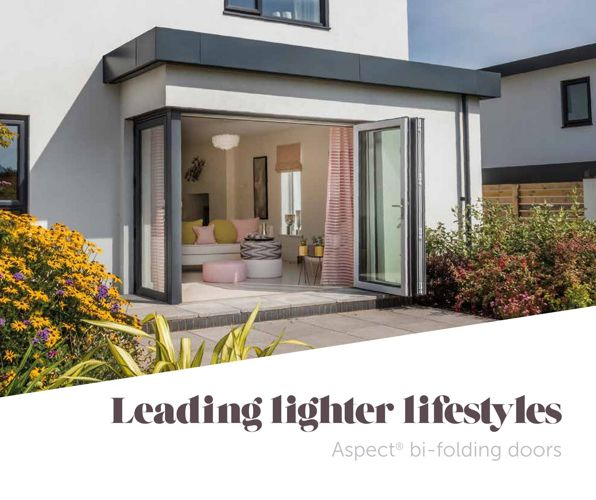 Eurocell Aspect Bi-Folding Doors