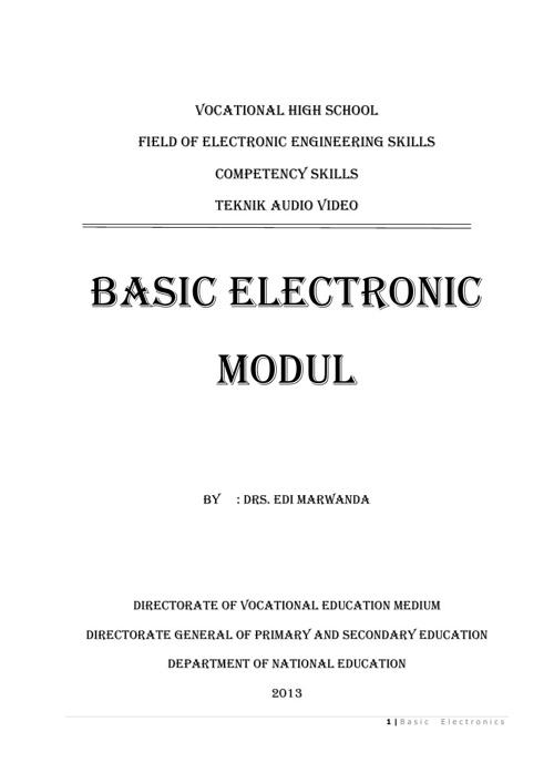 module electronic