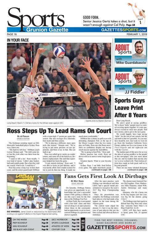 Gazette Sports 2-1-18