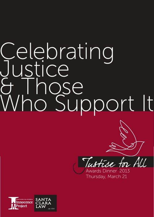 Justice for All Awards Dinner 2013