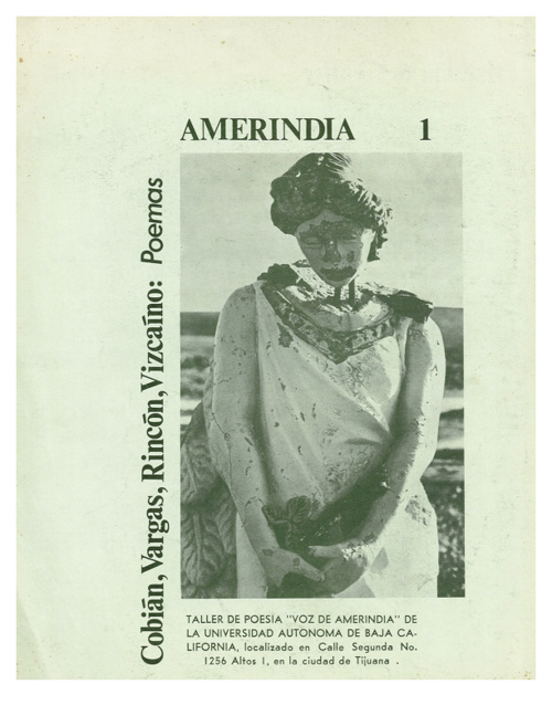 Revista Amerindia, Numero 1.