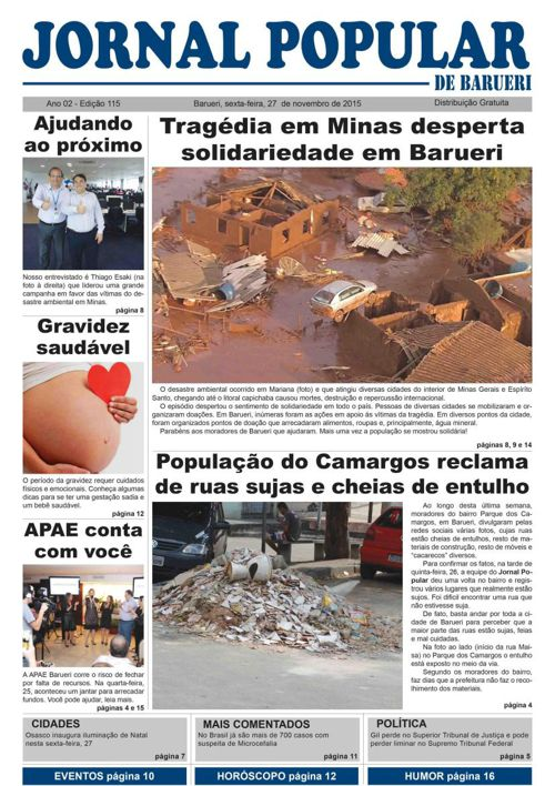 115ª edição do Jornal Popular de Barueri