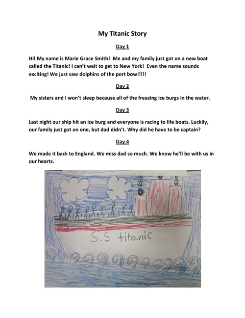 My Titanic Story
