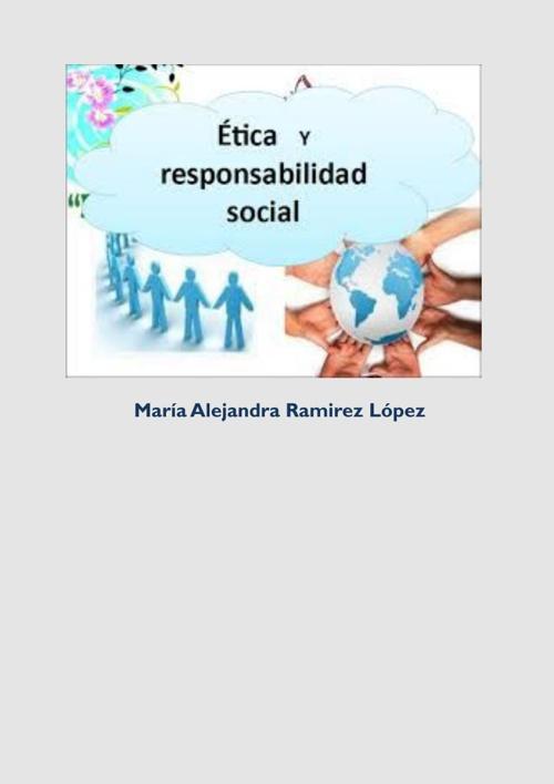 REVISTA DE ÉTICA Y RESPONSABILIDAD SOCIAL