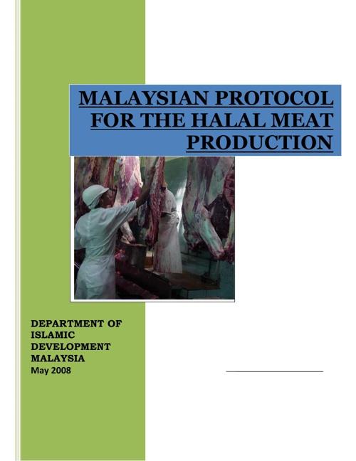 Protokol Halal Malaysia 2008