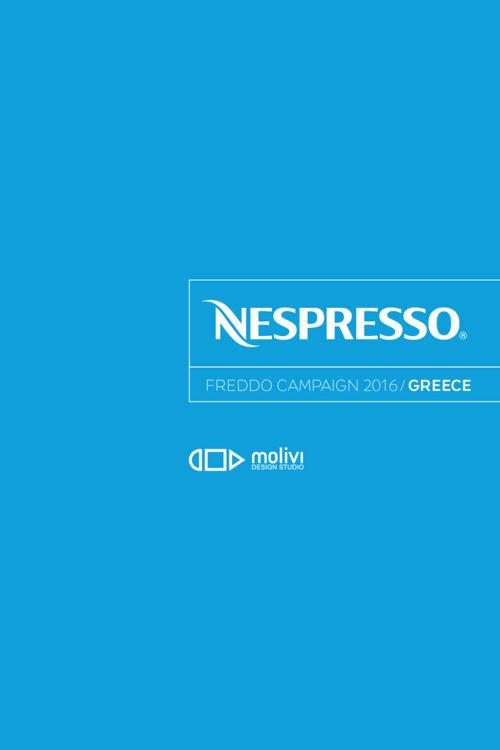 Nespresso Freddo Campaign 2016