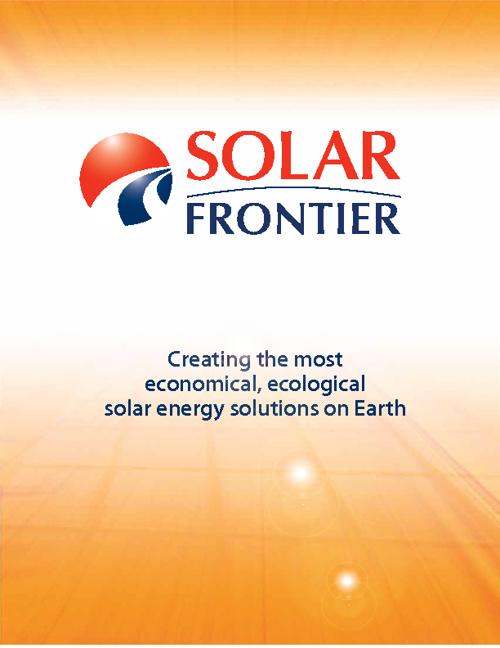 Solarfrontier_algemeen