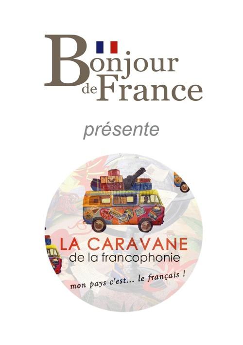 plaquette de présentation de la Caravane de la francophonie