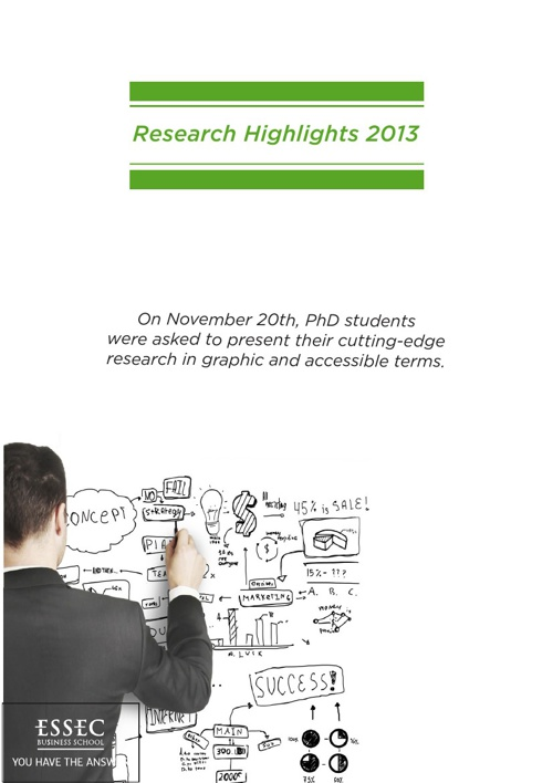 Research Highlights 2013