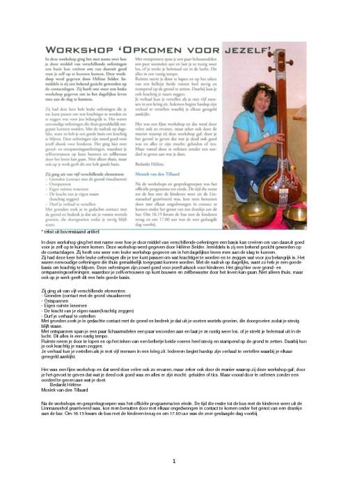 Recensies dagbladen, magazine's en nieuwsbrieven