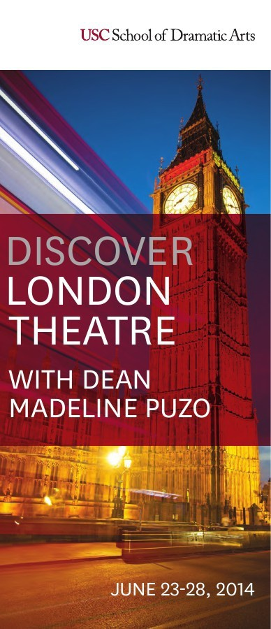 London Theatre Tour - June 23-28, 2014