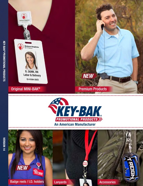 KEY-BAK Promotional Products Catalog 2014