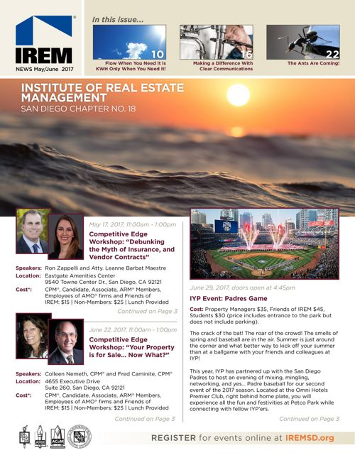 IREMSD May/June 2017 Newsletter