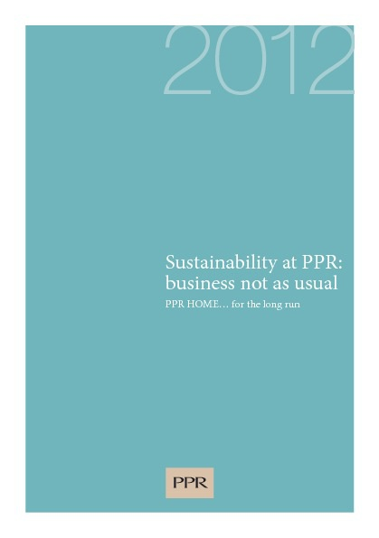 Sustainability at PPR - Pocket Guide