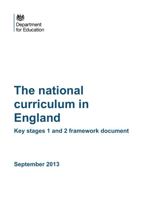 National Primary Curriculum 2014