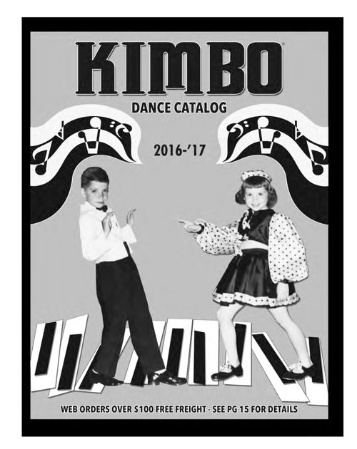 2016 - 2017 Kimbo Dance Catalog