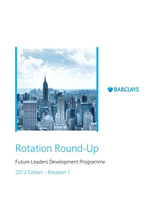 FLDP Rotation Round-Up
