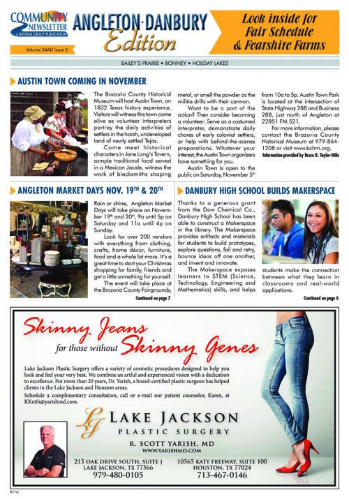 Angleton-Danbury Community Newsletter Volume 24 Issue 5