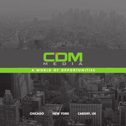 CDM MEDIA Recruitment Brochure