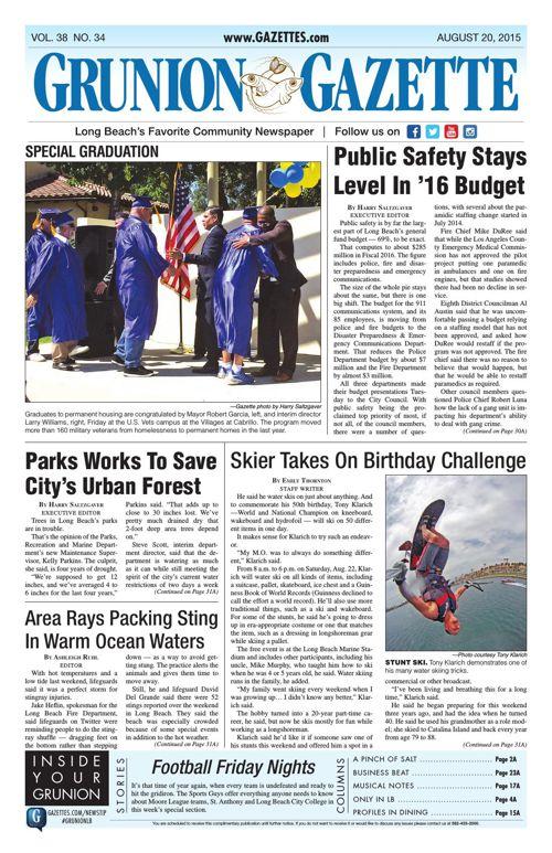 Grunion Gazette | August 20, 2015