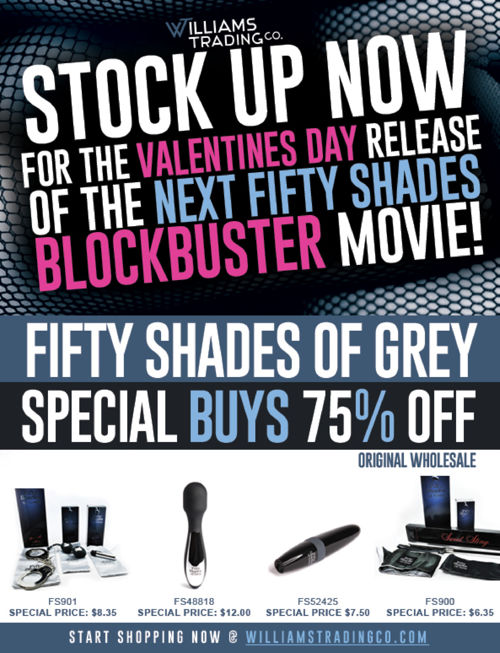 Fifty Shades Of Grey Special Buys