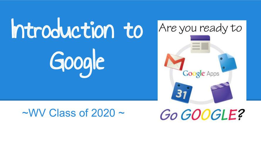 Intro to Google