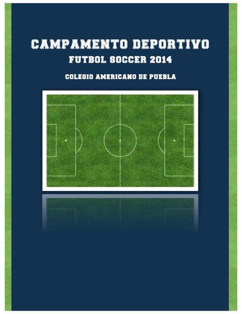CAMPAMENTO DEPORTIVO 2014
