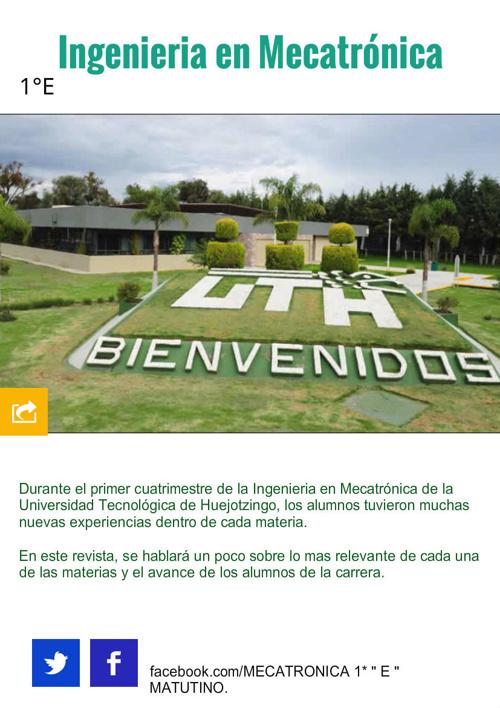 UTH 1 E MECATRÓNICA.