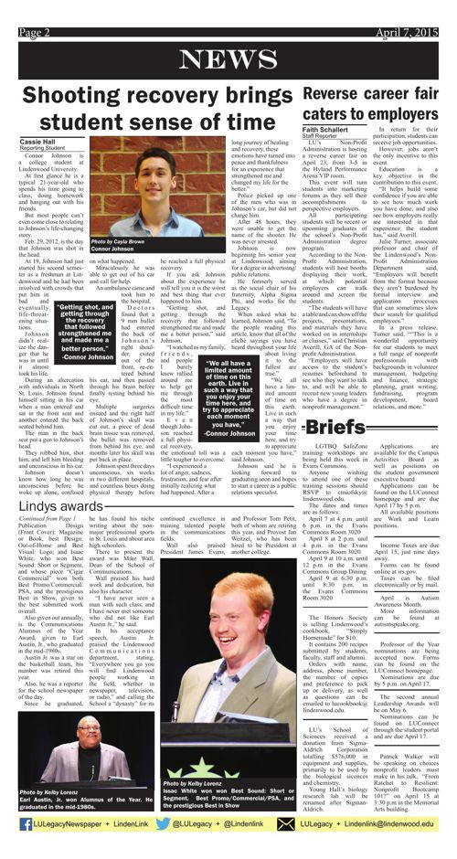 April 7, 2015 issue of the Legacy