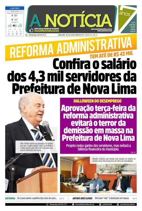 Jornal A Notícia - Edição 291