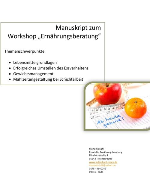 Beispiel Manuskript