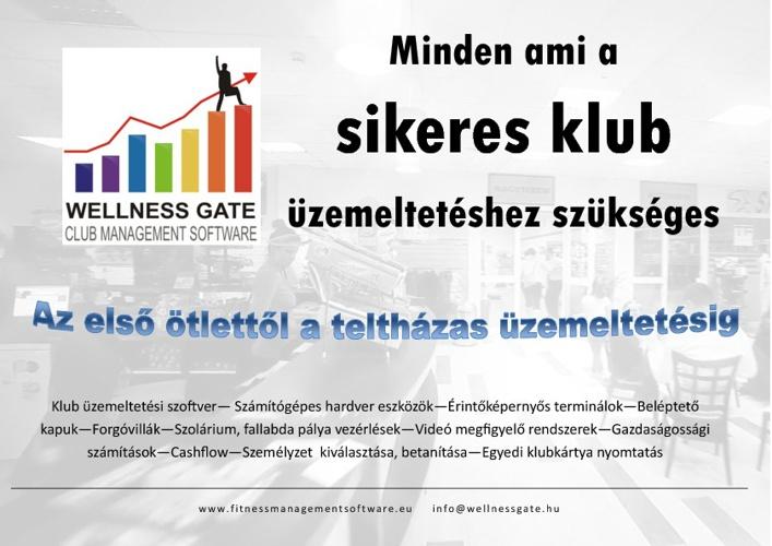 Wellness Gate bemutatkozó prospektus