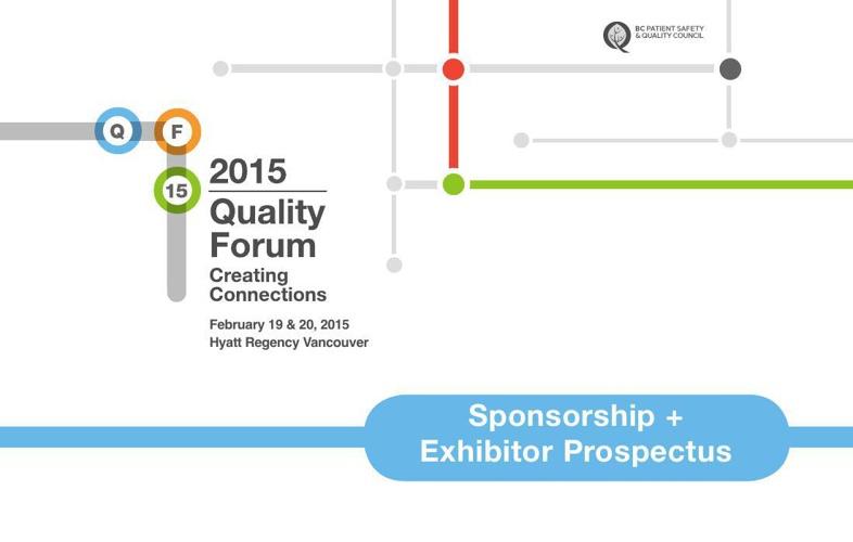 QF15 Sponsorship & Exhibitor Prospectus