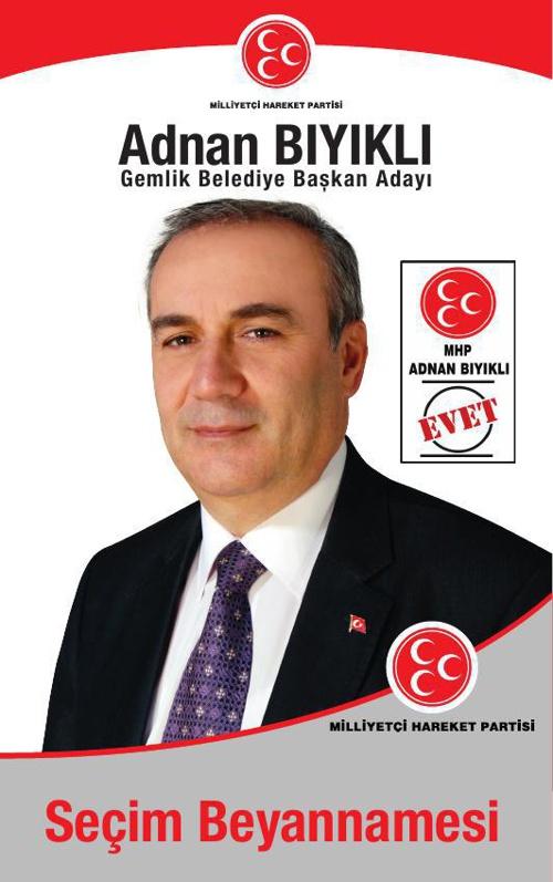 Dr.Adnan Bıyıklı MHP Gemlik Seçim Beyannamesi