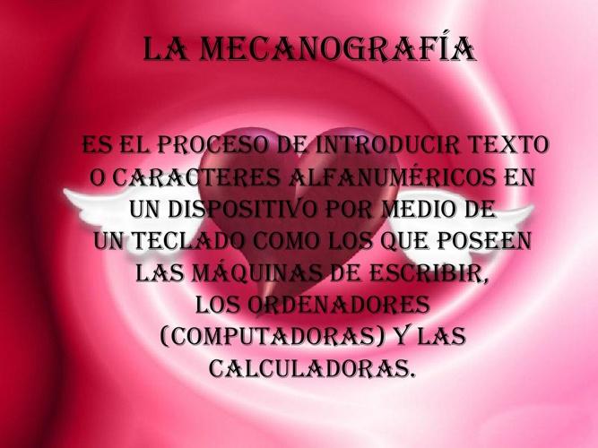 LA MECANOGRAFÍA