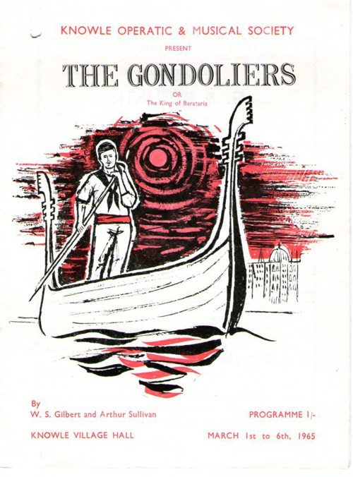 1965 The Gondoliers