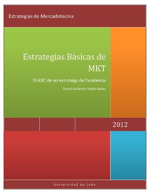 Trabajo Final Estrategias de MKT