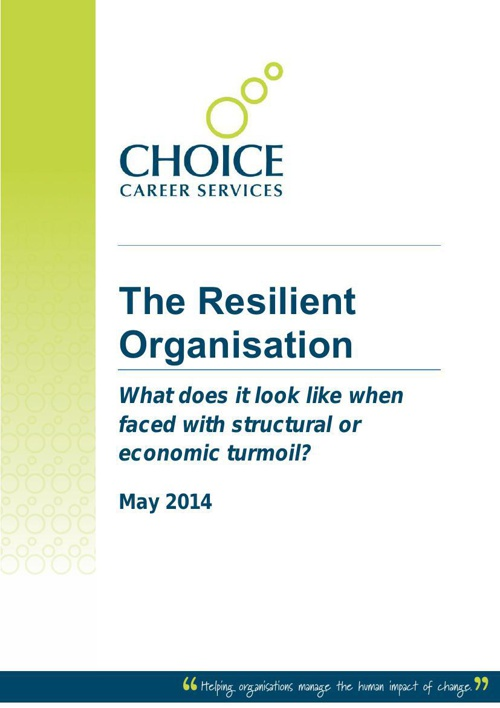 CCS Change Management - The Resilient Organisation