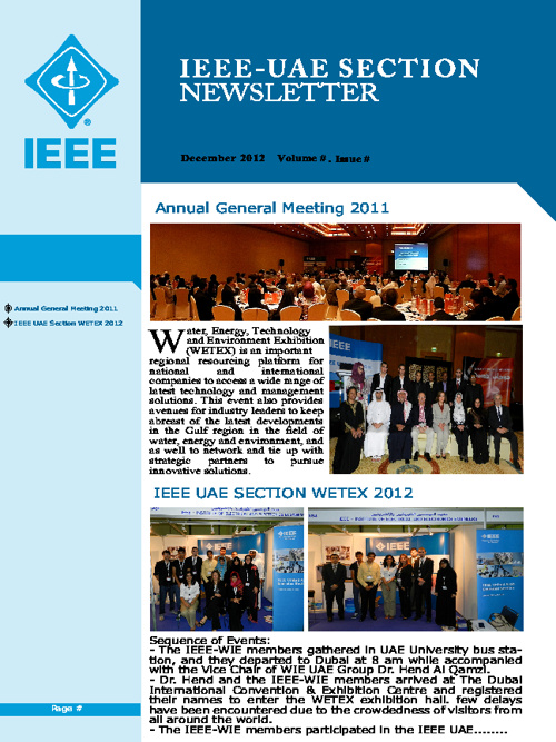 IEEE UAE Section Newsletter - Draft 1