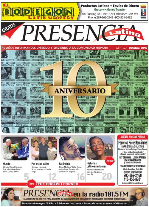 Presencia Latina Version Virtual Octubre 2015