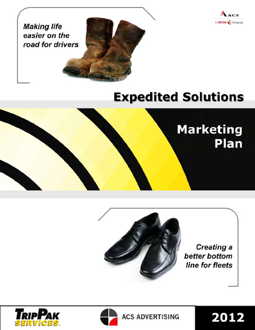 2012 Expedited Solutions Marketing Plan