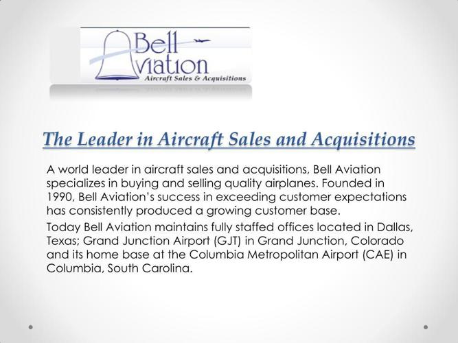 Regional Aircraft Appraisal