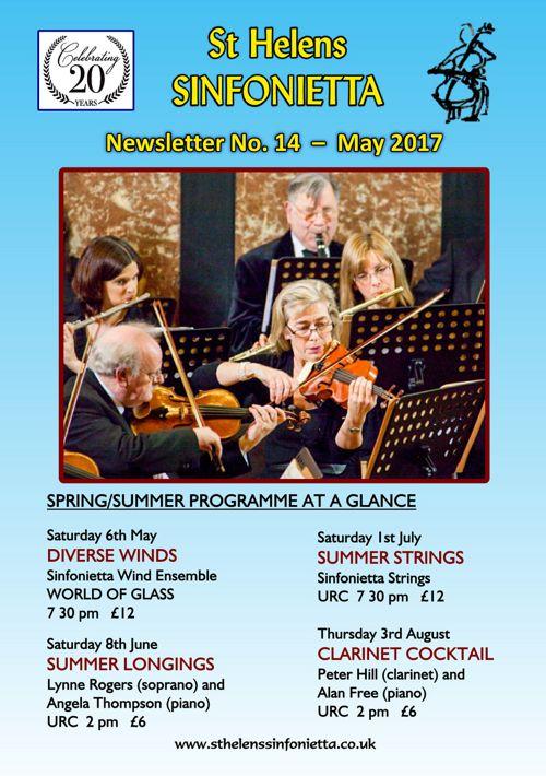 Sinfonietta Newsletter 14