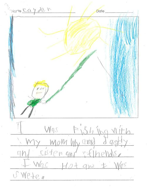 Cayden's Published Writing